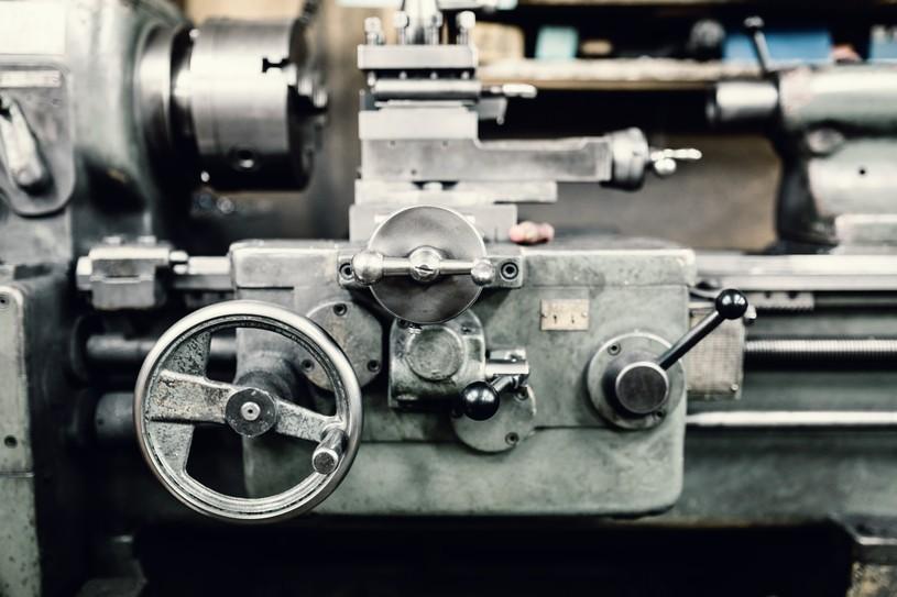 機械工場の風景