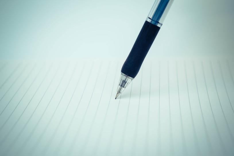 シャーペンとノート