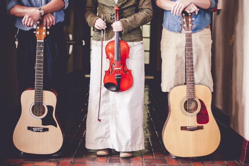 複数の楽器